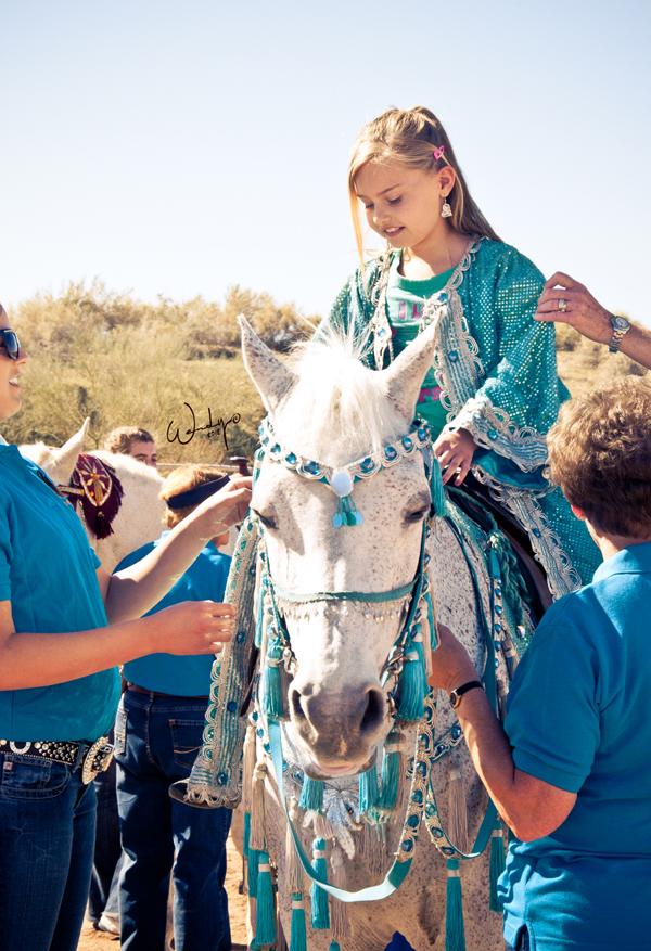 Scottsdale - girl on horse