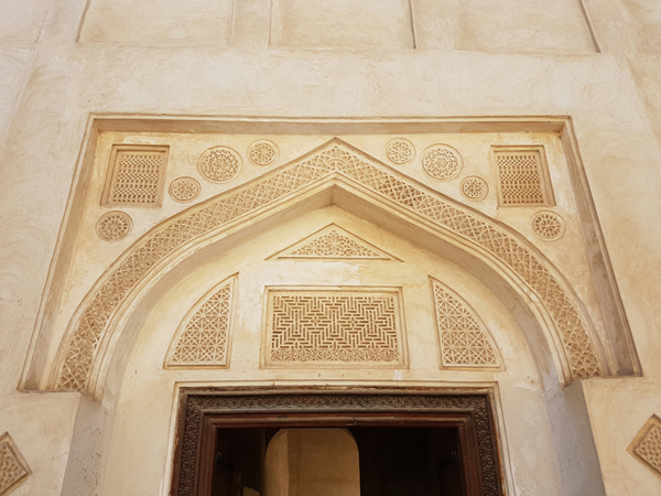 entrance to sheikh isa bin ali house