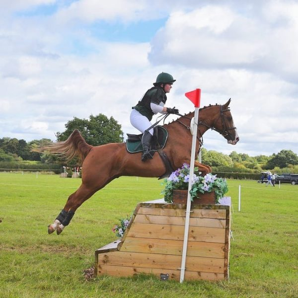 Odin flew over the 5th at Solihull as we both gained confidence (c) 1st Class Images