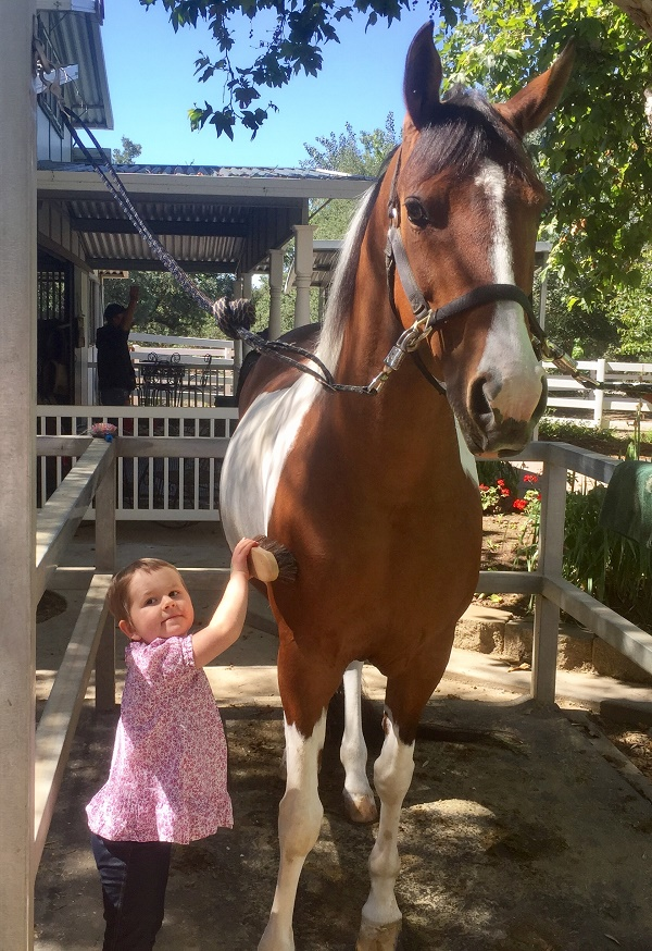 Warrior Kid Charley and her Warrior Horse  Imagine Fame+++/