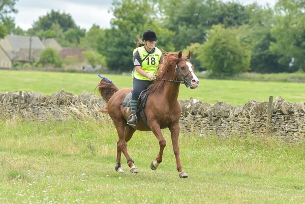 Marcus Aurelius completing the endurance ride at Bibury (c) True to You Photography