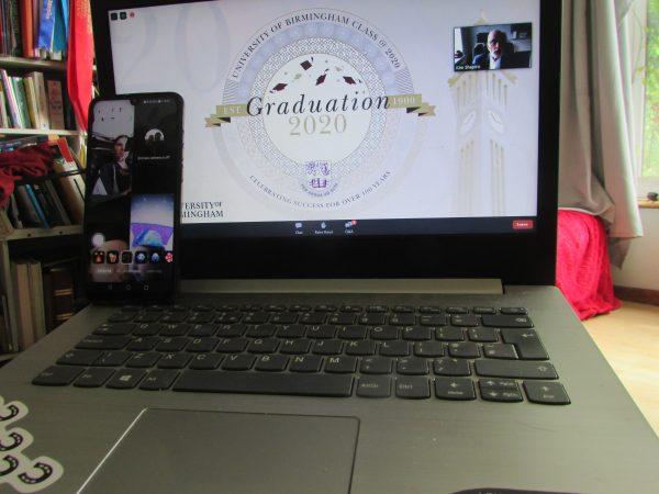 An unusual graduation but a graduation none-the-less (c) Katherine Bertram