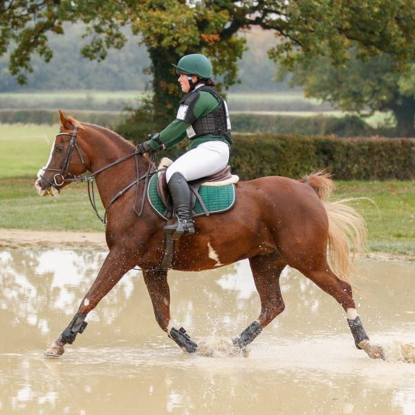 Annia Aurelia trotting through the water at Solihull (c) TopShots Photography