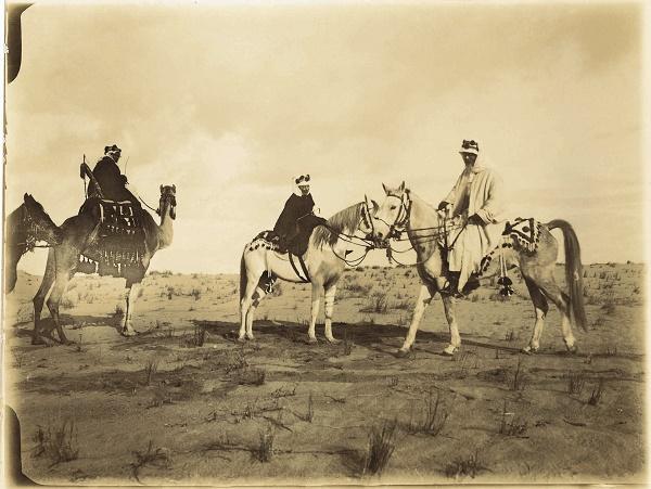 The Blunts in the desert