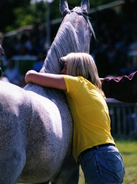Ffatal Attraction and Delyth after he was named British National Champion