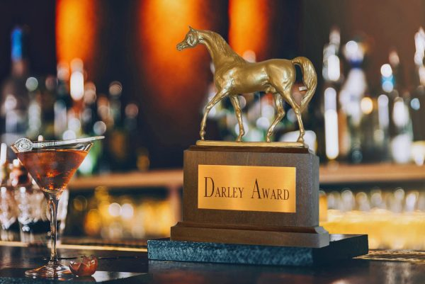 The Darley Award with the Darley Double cocktail