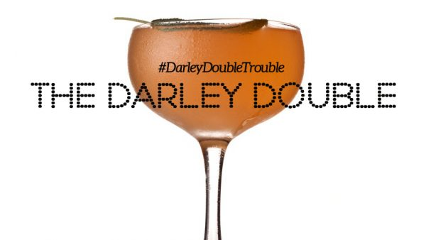 The Darley Double is the signature cocktail of the Darley Awards